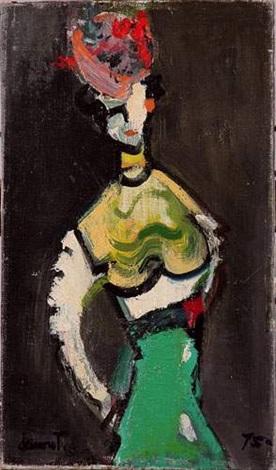 personnage féminin by jean marcel dannet