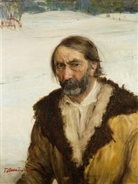 portret mężczyzny by teodor axentowicz