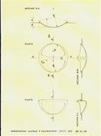 due disegni per le posate in polistirolo e contenitori per cucina kartell (2 works) by gino colombini