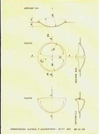 Due disegni per le posate in polistirolo e contenitori per cucina ...