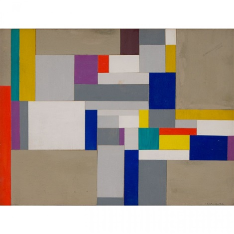 geometric abstraction by ilya bolotowsky
