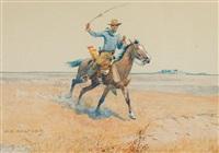 lone rider by olaf c. seltzer