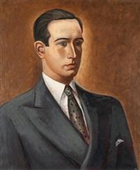 portrait d'homme by joaquín peinado