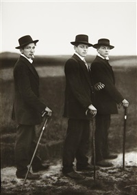 jungbauern (young farmers), westerwald by august sander