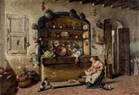 interior de cocina by manuel amell