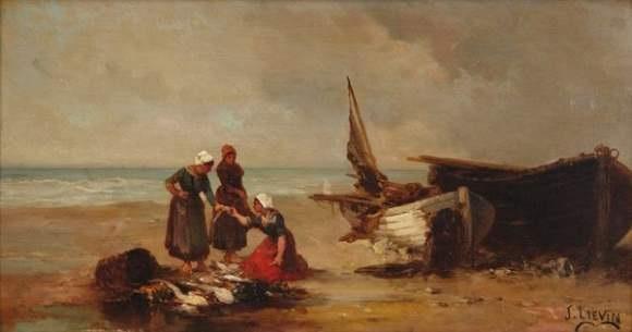 bord de mer 2 works by joseph lievin