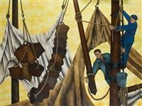 marins dans les gréements by georges bauquier