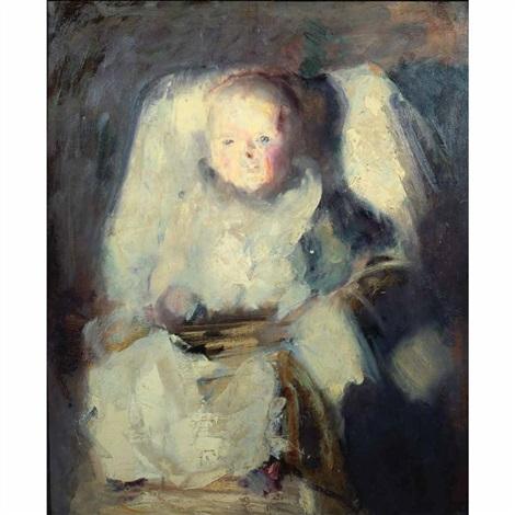 portrait of godfrey twachtman by john henry twachtman