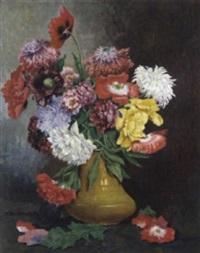 blumen in einer vase by max spilhaczek