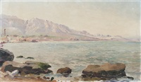 plage de l'estaque by andre chaumiere