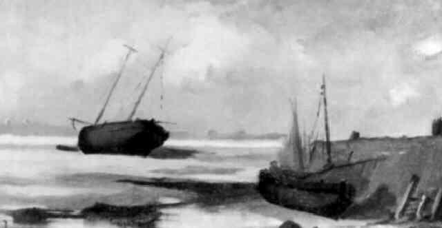 barques en bretagne by emile jourdain