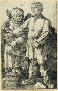 der marktbauer und sein weib by albrecht dürer