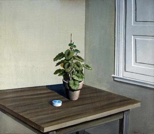 planta y vereda from los malvones series by pablo suárez