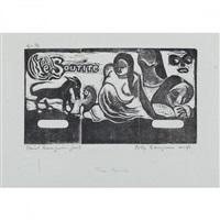 titre pour le sourire by paul gauguin