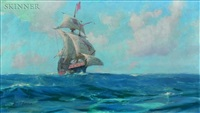 the galleon by john p. benson
