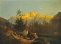 partie z alpského údolí by alois bubák