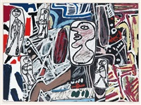 faits mémorables iii by jean dubuffet