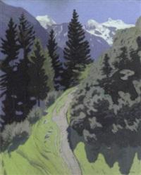bergweg (stubai) by otto bauriedl