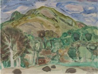balmacara, sgur mor (+ kylescue; 2 works) by william george gillies