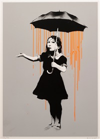 nola (orange) by banksy