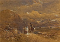 the gossips by david cox the elder