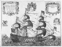 nave reale d'inghilterra nominata il gran carlo by vincenzo maria coronelli