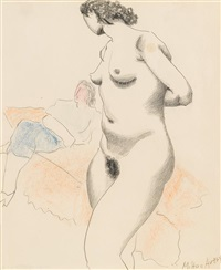 clothed and unclothed by milton avery