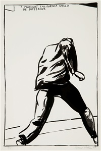 i thought california would be different by raymond pettibon