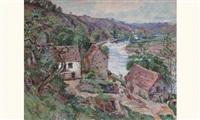paysage de la creuse by eugene alluaud
