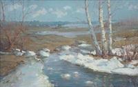 spring flooding by stanislavs kreics