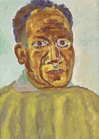 self portrait by beauford delaney