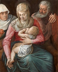 sainte famille by flemish school (17)