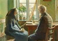 bordbøn by michael peter ancher