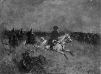 napoléon en campagne by emmanuel de santa coloma