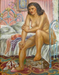 contemplation (the morning after) by lloyd lozes goff