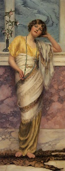 a beautiful maiden by william clarke wontner