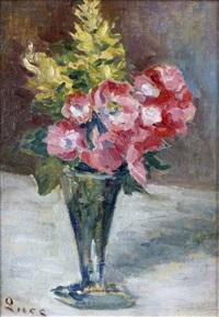 vase d'anémones by maximilien luce