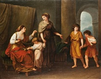 ókori történelmi jelenet by f. lenharth