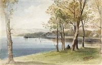 row pier from cairndhn point by william cross buchanan