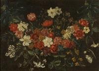 guirlande de fleurs by philippe de marlier