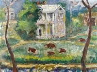 eisenhower's birthplace by josephine mahaffey