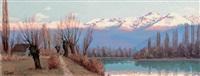 la chaîne de belledonne et l'isère by lucien quenard