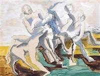 centaures by ossip zadkine