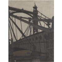 albert bridge by william brooker