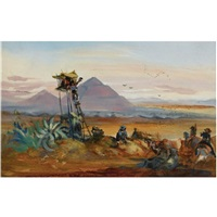 teotihuacán by johann moritz rugendas