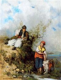 courtship by otto baditz