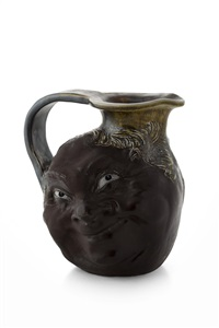 character jug by martin brothers