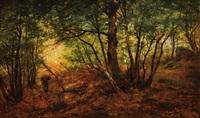 fagotière en forêt by auguste allongé