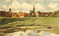 village behind a dyke by nicolaas bastert