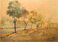 a landscape by jordan geshev